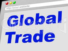 Global Trade Shows Commerce Globalize And E-Commerce