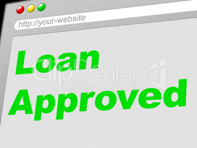 Loan Approved Indicates Advance Assurance And Passed