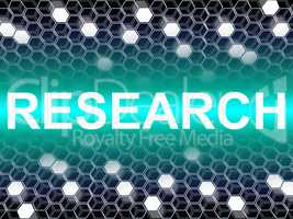 Research Word Means Gathering Data And Analysis
