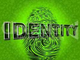 Identity Fingerprint Represents Log Ins And Brand