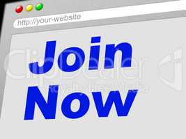 Join Now Shows At This Time And Application