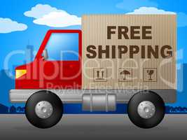 Free Shipping Shows With Our Compliments And Deliver