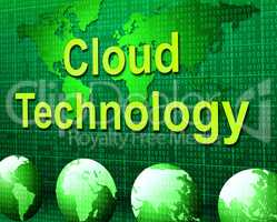 Cloud Computing Represents Information Technology And Communication