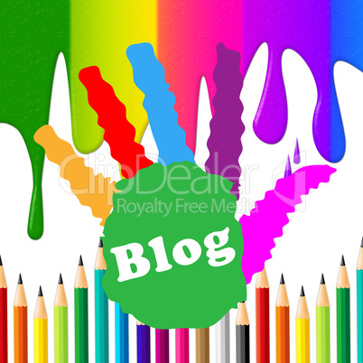 Kids Blog Indicates Online Toddlers And Child