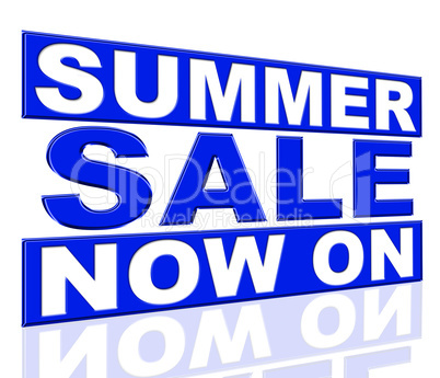 Summer Sale Means At This Time And Clearance