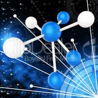Atom Molecule Indicates Research Chemical And Chemistry