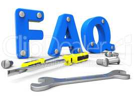 Faq Online Shows World Wide Web And Help