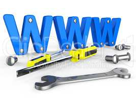 Online Tools Means World Wide Web And Apparatus