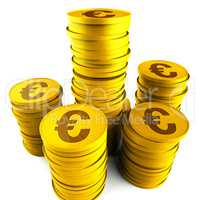 Euro Savings Indicates Finance Cost And Cash