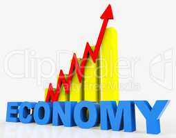 Improve Economy Shows Progress Report And Advance