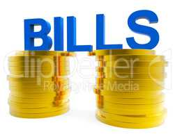 Increase Bills Shows Prosperity Finance And Upward