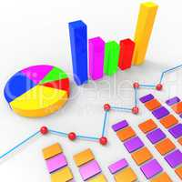Graph Report Represents Trend Graphics And Finance