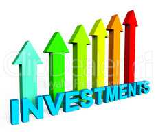 Investment Increasing Means Financial Report And Document
