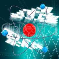 Atom Molecule Indicates Chemist Formula And Chemical