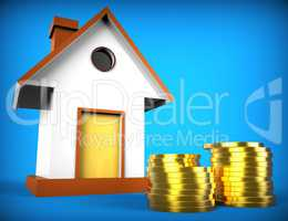 Real Estate Mortgage Represents On The Market And Advance