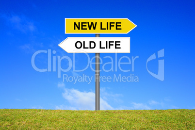 alter trott neuer weg