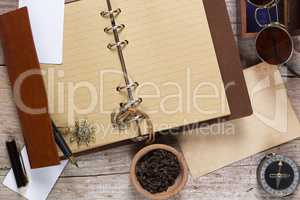 Clove spice and note pad