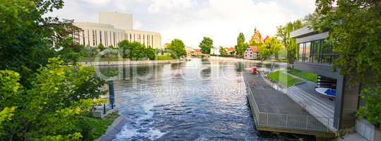 Bydgoszcz-mill island