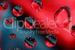 Red And Black Drops