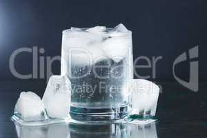 Mineral Water With Ice