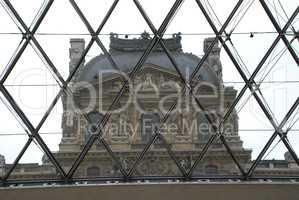 The Pyramid at the Louvre Paris