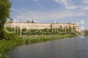 Mediaval fortress in Medzhibozh ukrainian place of glory photo