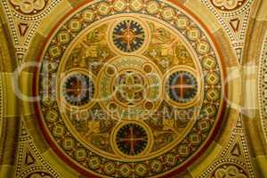Decorative ceiling detail