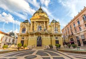 Theater of city Pecs, Hungary,18. august 2016
