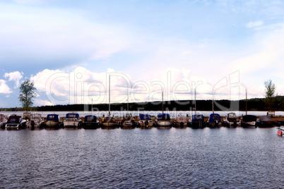 Vättern See bei Hjo in Schweden