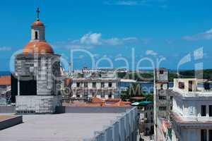 Havanna, Blick auf die Hauptstadt in Kuba