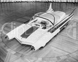 Futuristic Car, circa late 1950s-early 1960s