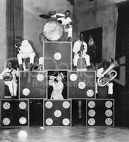 Pyramid of musicians