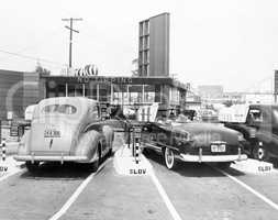 Drive-in restaurant 'The Track', Los Angeles, CA, July 10, 1948