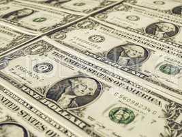Vintage Dollar notes 1 Dollar