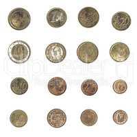 Vintage Euro coin - Spain