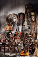 Still Life With Old Musical Instruments