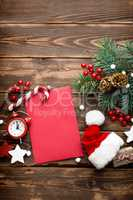 Christmas decoration, letter to Santa Claus
