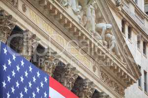 New York Stock Exchange building in New York