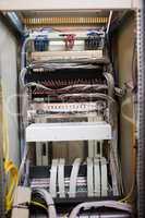 Open locker of rack mounted server