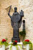 Statue von St. Nikolaus in Bari