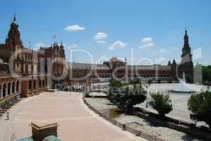 Seville (Spain): Plaza de España