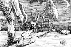 Hare And Hunter