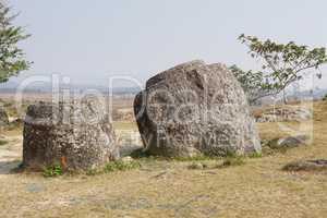 Ebene der Tonkrüge, Laos, Asien