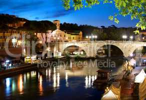 Bridge Cestio in Rome