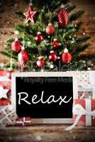 Christmas Tree With Relax