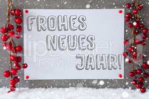 Label, Snowflakes, Christmas Decoration, Neues Jahr Means New Year