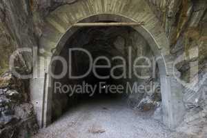 Alter Tunnel der Malta-Hochalmstraße, Oesterreich