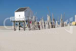 Sea cottage on the island of Vlieland.