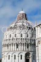 Pisa's Cathedral Square (Piazza del Duomo): The Pisa Baptistry
