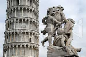Pisa's Cathedral Square (Piazza del Duomo): Leaning Tower of Pisa